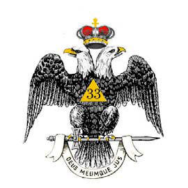 Double Headed Eagle of the 33rd degree